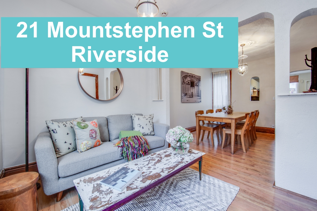 Riverside Home at 21 Mountstephen Street