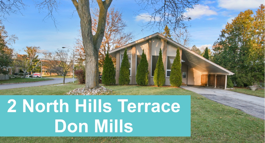 Don Mills MCM home at 2 North Hills Terrace