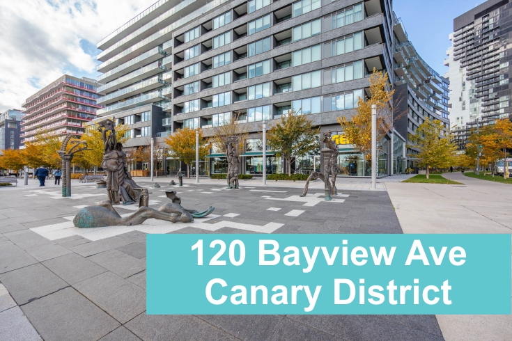Canary District Condo at 120 Bayview Ave